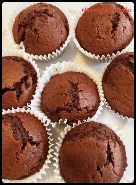 NannyShecando Chocolate Cupcakes