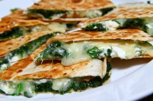 Spinach and Feta Quesadillas 1 500