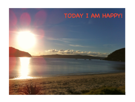 Today I am Happy!