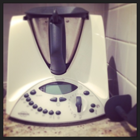 Christmas came early! Thanks BF. xx #thermomix