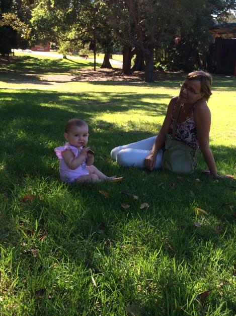 NannyShecando with Little Viv