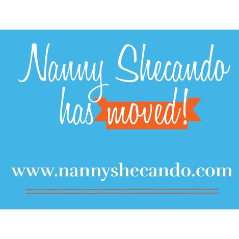 nanny, shecando, moving, blog, url