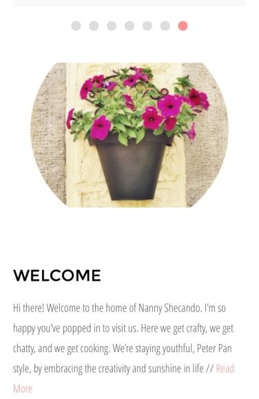 nanny, shecando, blog, hope